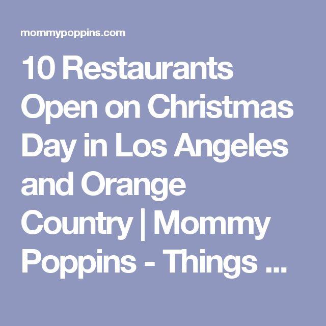 The 25+ best Restaurants open on christmas ideas on Pinterest ...