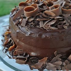 """Extreme Chocolate Cake 