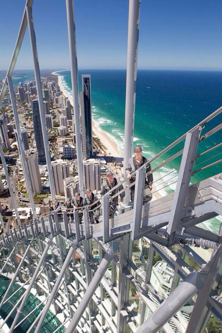 Q1 Tower, Surfers Paradise, Gold Coast, Queensland, Australia.