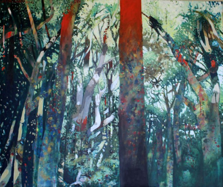 Patterns Of Light, a painting by Herb Foley, Kerikeri, NZ. I am the proud and delighted new owner of this beautiful work.