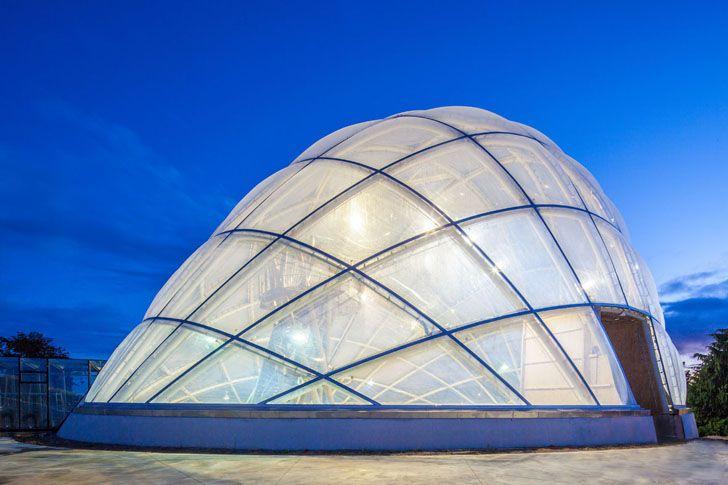 Greenhouse, Aarhus Botanical Gardens, Aarhus, Denemarken, by C. F. Møller Architekten