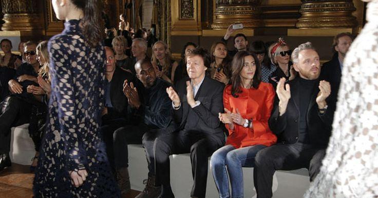 Paul McCartney causa furor no desfile da filha Stella, repleto de famosos