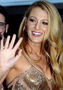 August 25, 1987 ♦ Blake Lively, American actress.