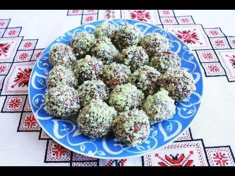 Домашнее печенье Каштаны Как приготовить печенье Тесто для печенья Печиво Каштани Печенье ежики - YouTube