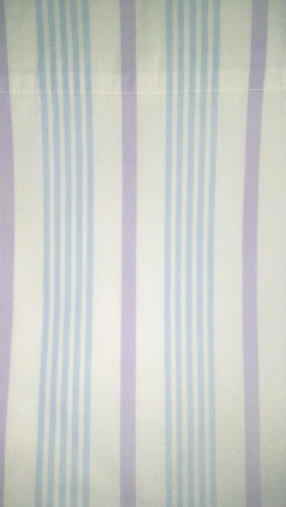 "Pottery Barn Kids Isabella Stripe Curtain Panel Lined Blue/Purple 41"" x 56"" #PotteryBarn"