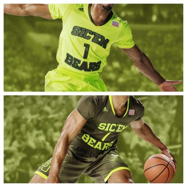 #Baylor men's basketball will debut these adidas #MadeinMarch uniforms at next week's Big 12 Championship. #SicEm