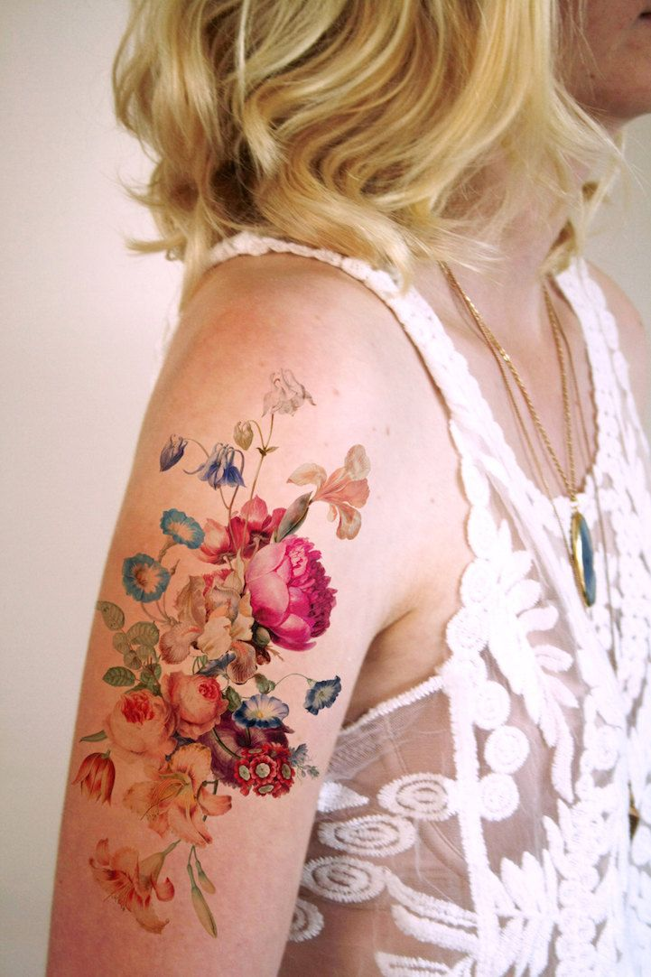 Tattoorary sells these temporary works of #art that will last on your body for up to a week. #tattoo
