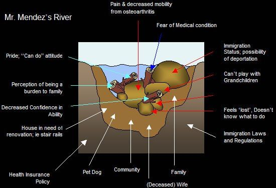 The Kawa (river) model of occupational therapy | The OT process