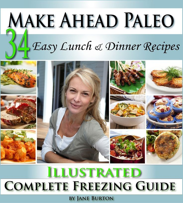 FREE TODAY!! Make Ahead Paleo: A Cook Ahead Paleo Cookbook with Easy Dairy Free & Grain Free Recipes (Paleo Recipes: Paleo Recipes for Busy People. Quick and Easy Breakfast, ... Lunch, Dinner & Desserts Recipe Book 12) [Kindle Edition] #AddictedtoKindle