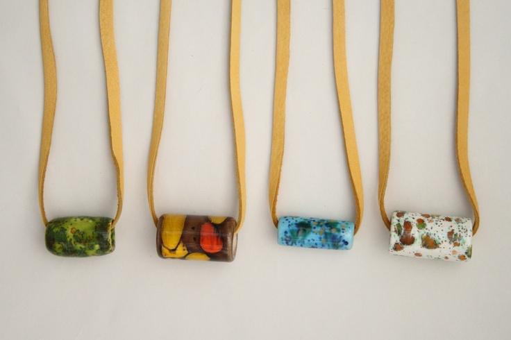Alchemy — Vintage Ceramic Necklaces: Vintage Ceramic