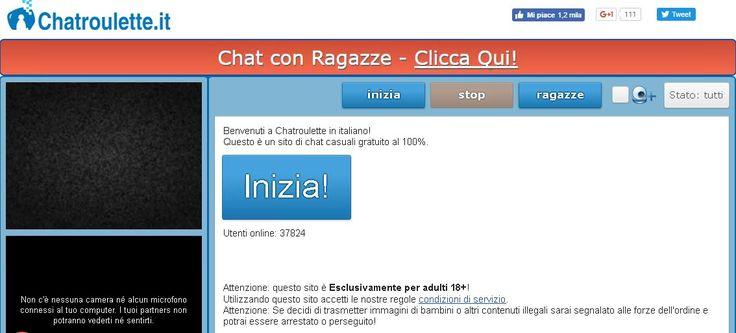 Chatroulette è dove si possono incontrare nuove persone e chattare a camma istantaneamente. Webcam chat con sconosciuti in tutto il mondo gratis! #chatrouletterandom