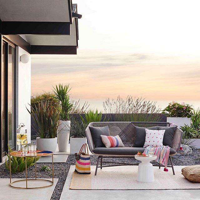 Throw the backyard party of your dreams this summer!  We teamed up with our pals at @zillow to bring you easy tips for making the most of your outdoor space. Get them + a chance to win $5000 to west elm with the link in profile. #mywestelm