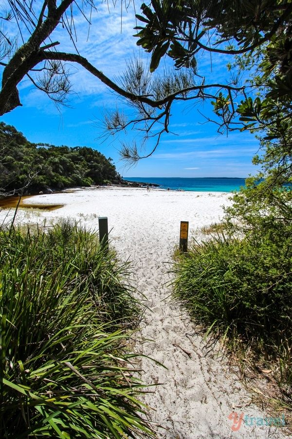 Seamans Beach, Jervis Bay, Australia. The White Sands walk is one of the best short walks in Australia