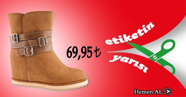 Ayakkabı aşıkları etiketin yarısı ile aşklarına kavuşuyor... ;) https://www.ayakkabidunyasi.com.tr/bot/canzone/z_ter_bot_c4910_vizon_suet_emts/4152491068260#.UtAXcfRdWsQ