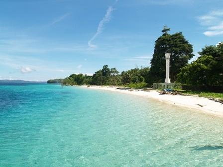 Natsepa Beach,Ambon