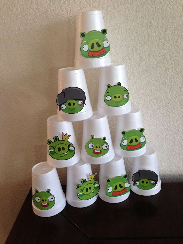 Gonzalo's Birthday Party - Angry Birds | CatchMyParty.com