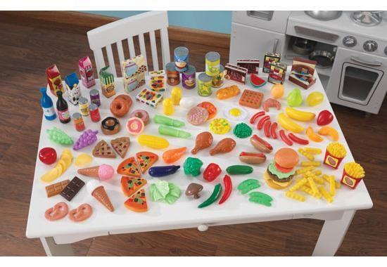 KidKraft - Tasty treats pretend food