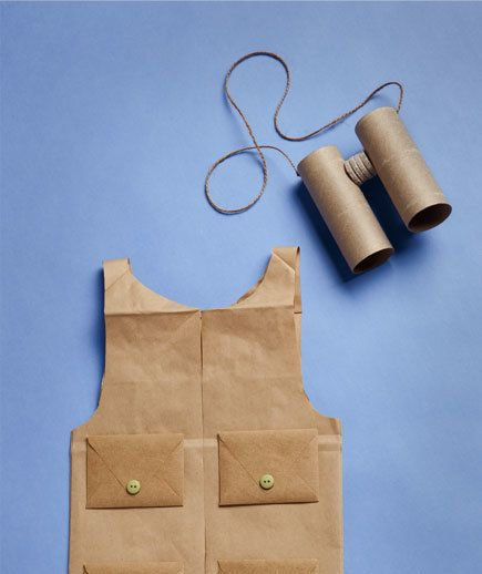 How To: Make a Vest | Dress up your kids in fun costumes you make with everyday household items.
