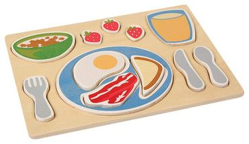 Guidecraft Sorting Food Trays: Breakfast - transitional - Kids Toys - Cymax