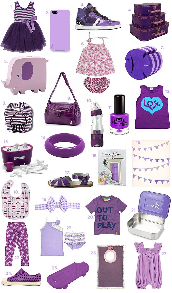 Purple goodies for kids | Style My Child - Hopscotch Kids Flying Purple People Eater Non-Toxic Nail Polish. Shop online at www.alittlebitofcheek.com.au for worldwide delivery