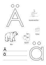 alphabet lernen buchstaben-lernvorlagen | das alphabet lernen