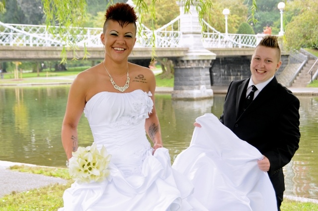 Wedding Gift Ideas For Gay Female Couple : ... Wedding Fashion on Pinterest Marriage equality, Wedding and Fashion