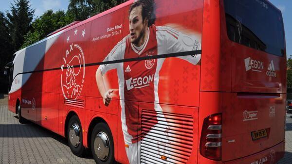 Twitter / AFCAjax: Dit is de nieuwe spelersbus! ...