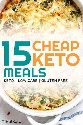 21 günstige Keto-Mahlzeiten – Rezepte für Keto mit kleinem Budget