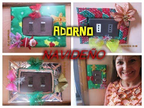 (3049) ADORNO NAVIDEÑO RECICLADO - YouTube