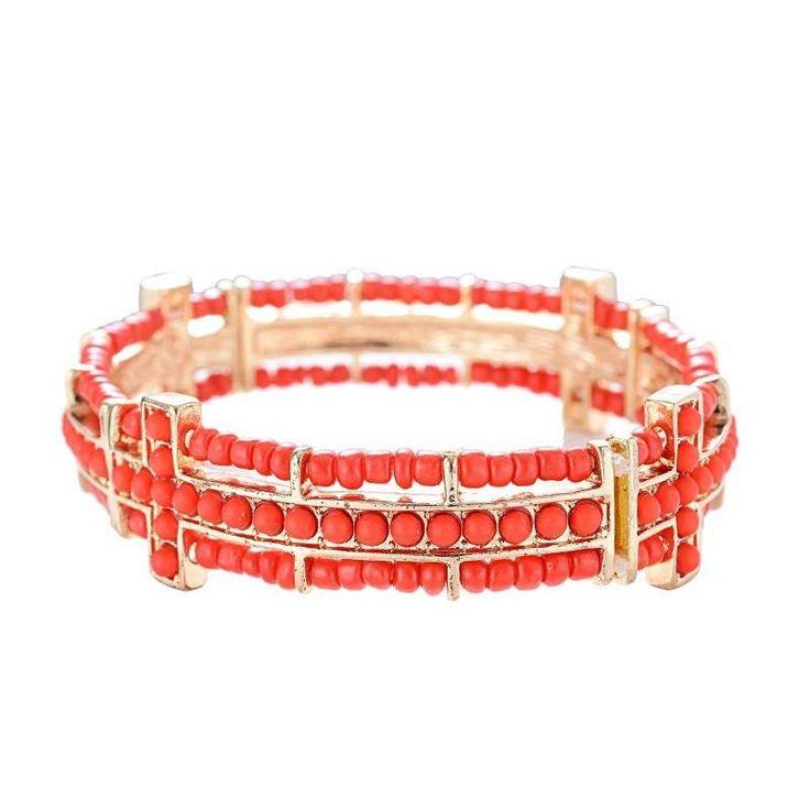 Unica Bohemian Style Fashion Bangle with Beads