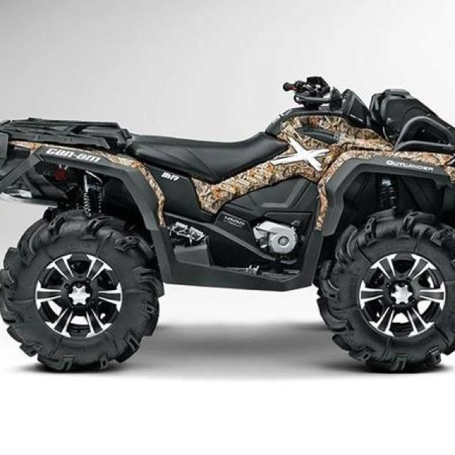 2013 Can Am Outlander 1000 Xmr  (siiiick)