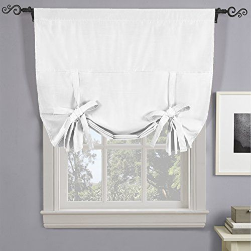 best 25 tie up curtains ideas on pinterest kitchen window dressing kitchen curtains and. Black Bedroom Furniture Sets. Home Design Ideas