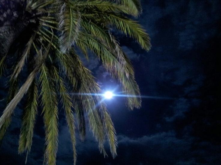 La luna en Cap Negret.ALTEA