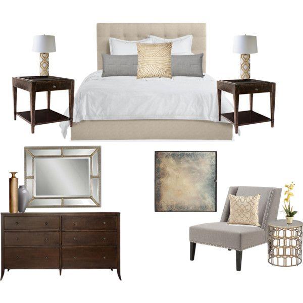 """Scheme 1 Bedroom"" by savvyco on Polyvore"
