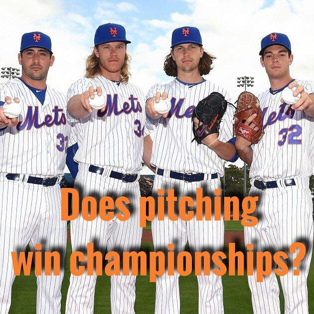 With baseball season just around the corner we are sure to hear someone say that pitching wins championships but is this really the case? We took a look at the last 18 World Series match-ups (2000-2017) to see if this is truly the case. At first glance it seems that this old adage is true. Out of the 36 teams to compete in the 18 World Series only 2 (6%) had a team ERA that was not ranked in the top half of all team ERAs in their respective seasons. This said it is imperative to have an…