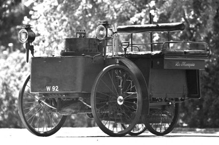 IchibanDrives.com - The Birth of the Automobile