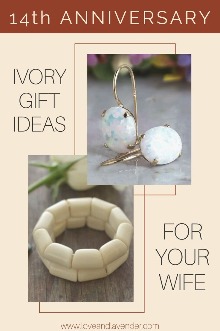 11 Incredible Ivory Gifts For Your 14th Anniversary Anniversary Gifts For Wife 14th Anniversary Gifts Creative Wedding Anniversary Gifts