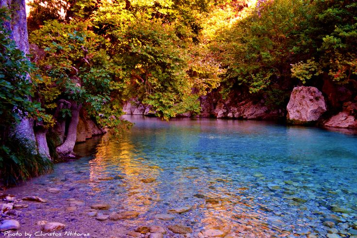 Walking on a dream feeling in Acheron River...1 Αχέροντας, η πύλη του Κάτω Κόσμου #traveltales #checkin #trivago