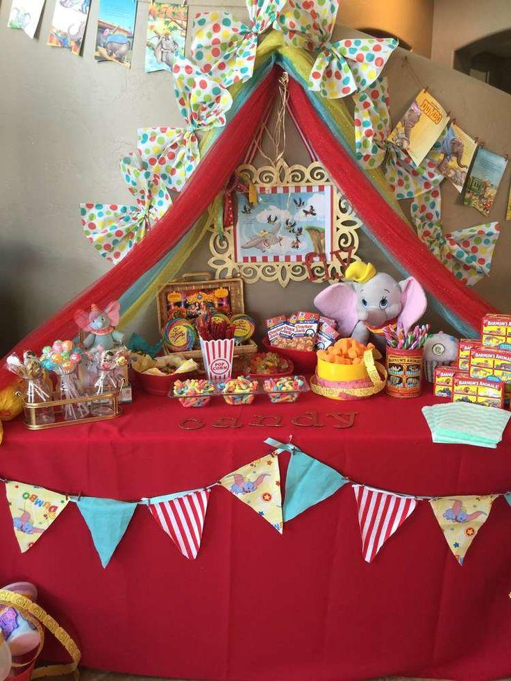 dumbo circus birthday party ideas in 2019