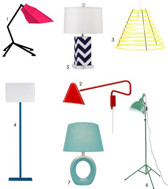 A Roundup of 'Happy Modern' Lighting | Inspiration