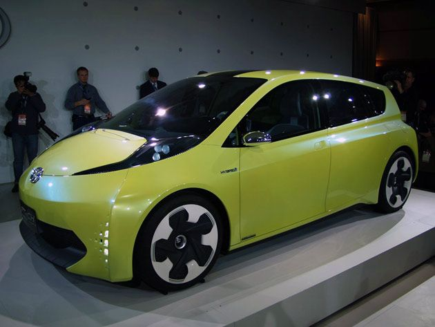 Toyota FT-CH a younger, cheaper brother for the PriusGreen Cars, Cars Reviews