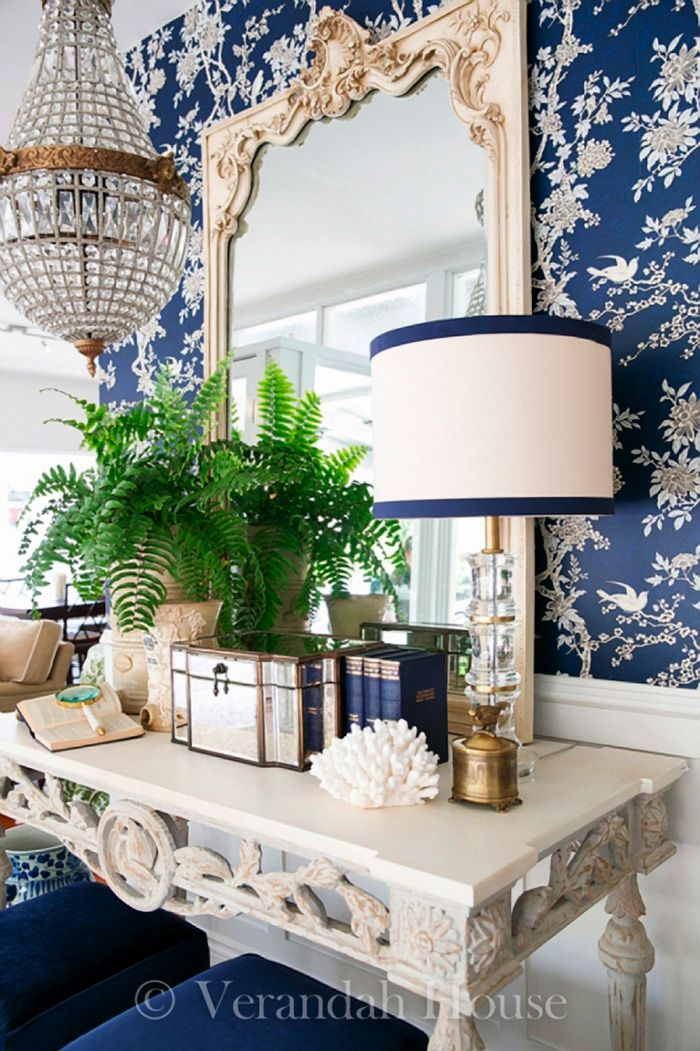 Blue and white styling with Brisbane-based Verandah House {The Pink Pagoda}