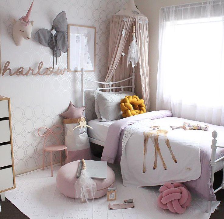 25 ide terbaik dekorasi kamar anak perempuan di pinterest