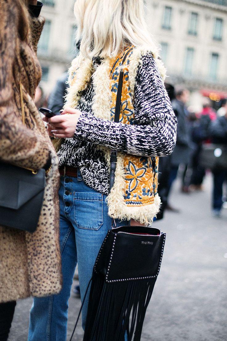 Sous le ciel de Paris. ¡Vuelven los 70's! ¿Tu te apuntas a esta #tendencia? ¡Nosotras si!: