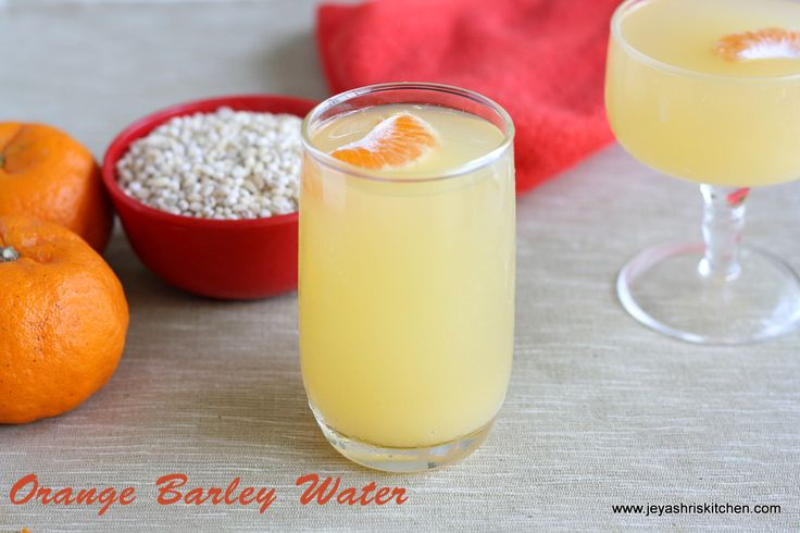 Orange barley summer cooler- http://www.jeyashriskitchen.com/2013/03/orange-barley-water-summer-drinks-recipe.html
