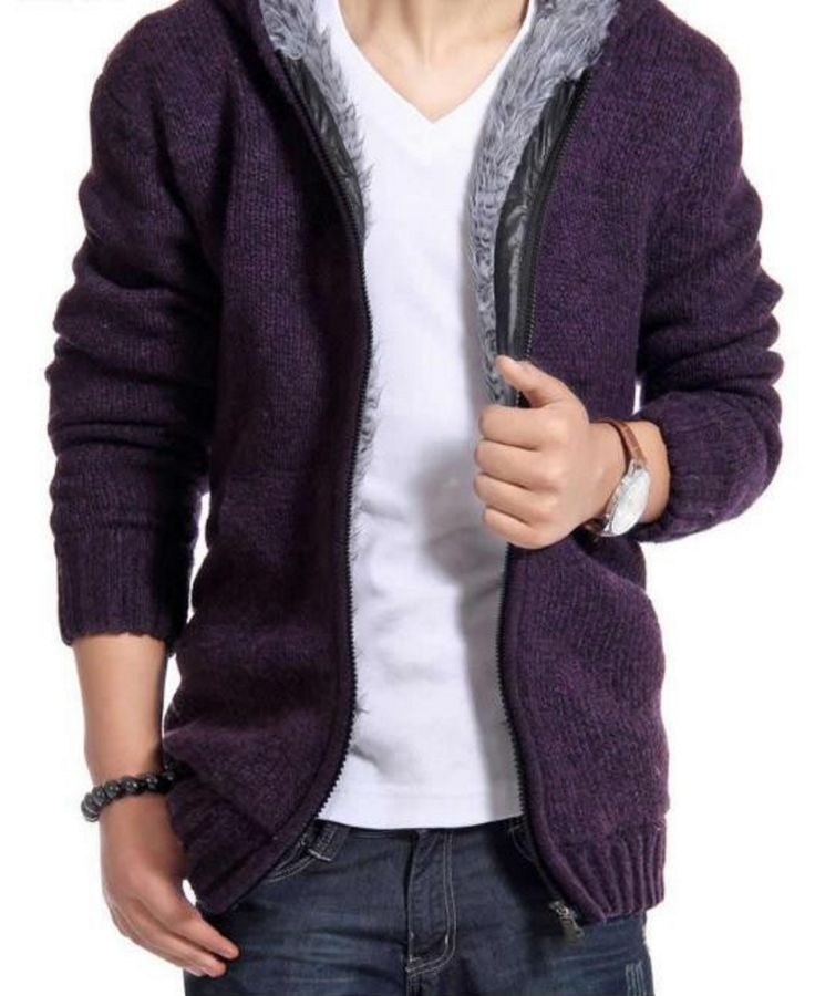 Persuader Hooded Cardigan