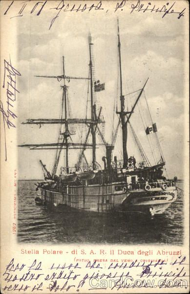 Stella Polare - Ship belonging to Prince Luigi Amedeo, Duke of the Abruzzi