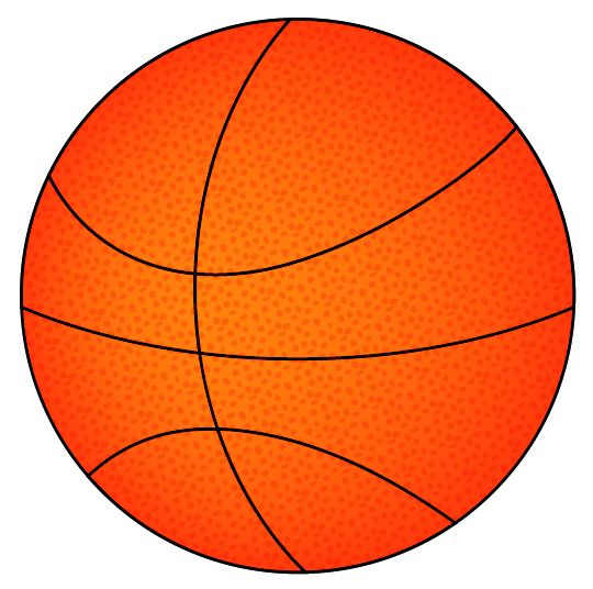 Adobe Illustrator - darmowe tutoriale: Piłka do kosza - basketball tutorial