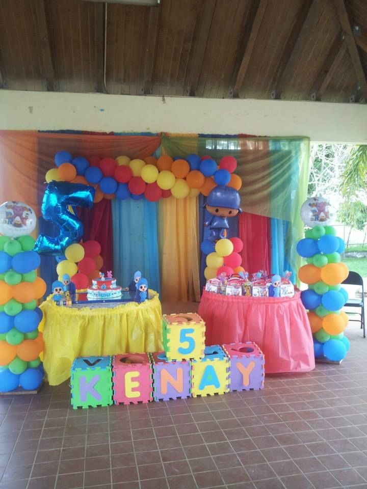Pocoyo Birthday IDea #pocoyo #pocoyoparty #pocoyosupplies