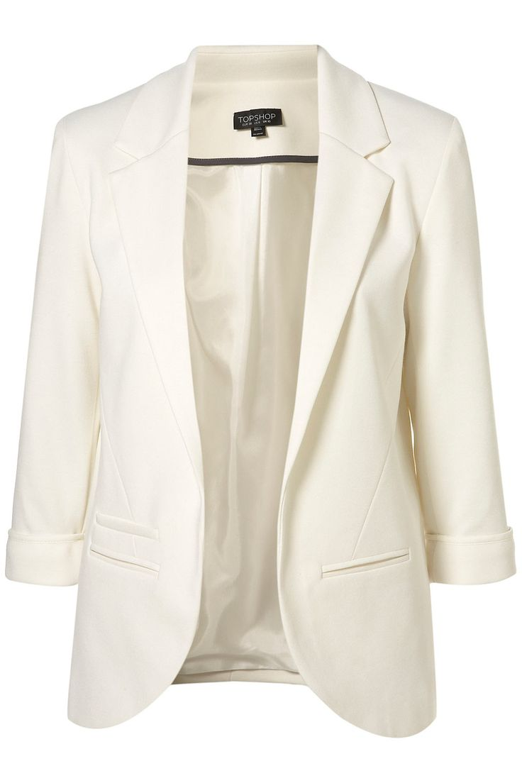 SUITS AND JACKETS - Blazers Ivories Buy Cheap Original FLWDK4p1f